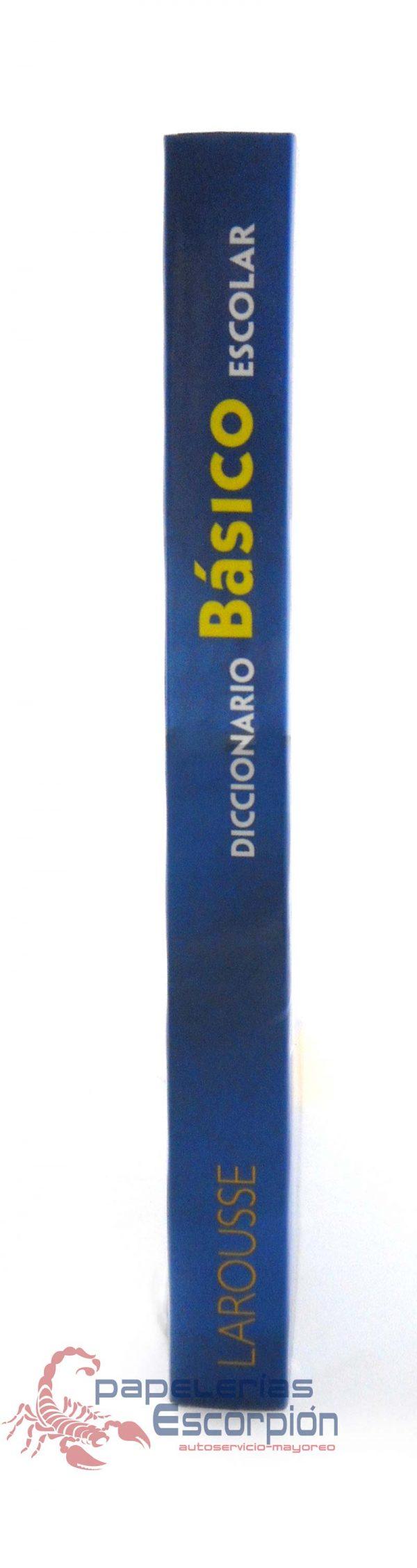 Diccionario Basico Escolar Azul Larousse