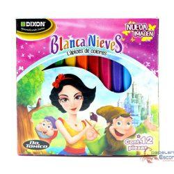 Lápices de Colores Blanca Nieves Cortos