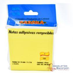 nota adhesivas pascua amarillas