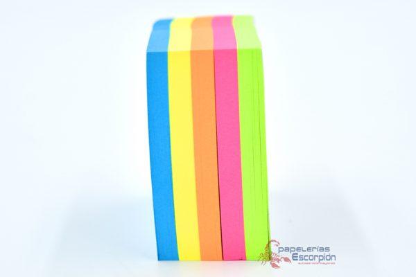 notas adhesivas removibles pascua 5 colores
