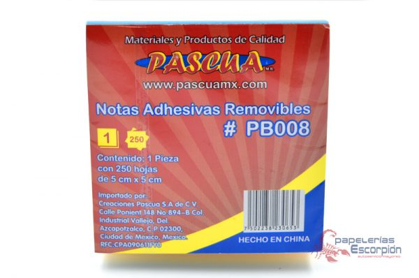 Notas Adhesivas Removibles Pascua