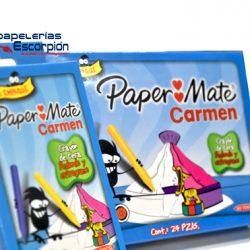 CRAYONES REDONDOS CARMEN/PAPER MATE EXTRAGRUESOS 2